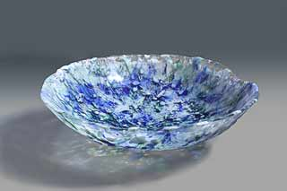 Cast Art Glass Bowls