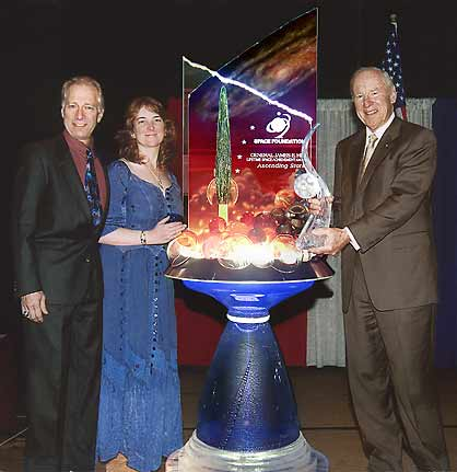 2002 Presented to Astronaut James Lovell, CDR. Apollo 13