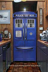 The Police Box Refrigerator